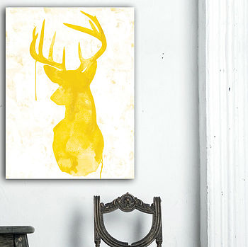 Oh Deer - Yellow
