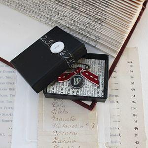 Vintage Style Letter Brooch