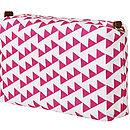 Bunting Wash And Cosmetic Bag