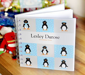 Christmas Notebook - stocking fillers under £15