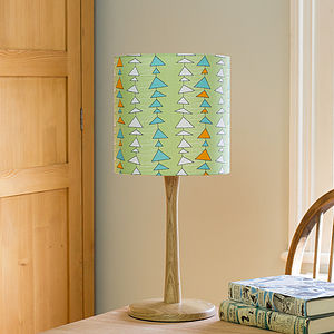 A Handmade Triangle Print Lampshade - lampshades