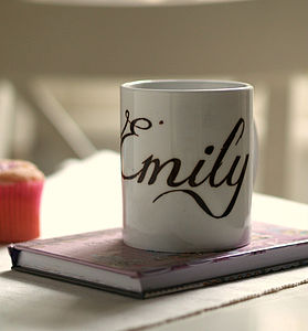Personalised 'Name' Mug - view all mother's day gifts