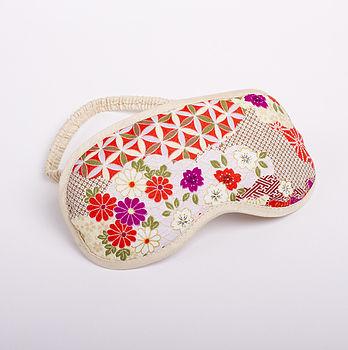 Japanese Kimono Eye Mask Kumo