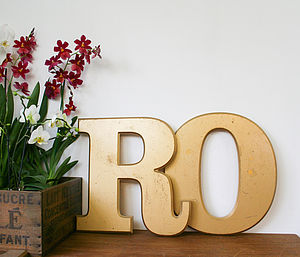 Vintage Shop Letters 'Circus' - home accessories