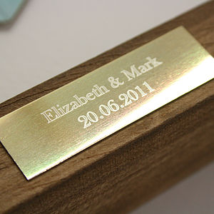 Engraved Plaque Add On - living room