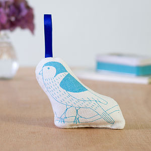 Lavender Filled Bird Decoration