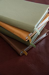 Personalised Leather Golf Journal
