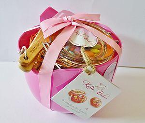 Pink Artisan Cookie Mix Baking Gift Set - food & drink gifts
