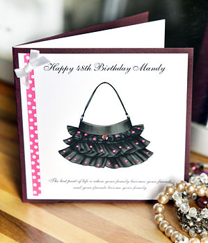 Personalised Friendship Greeting Card