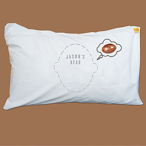 Personalised Headcase Pillowcase Rugby Dreams - bed, bath & table linen