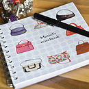 Personalised Handbag Notebook