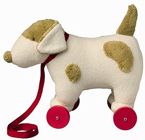 Pull Along Dog - toys & games