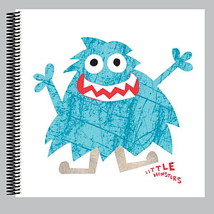 Little Monster Maddison Scrapbook - scrapbooks & sketchbooks