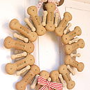 Dog Biscuit Wreath