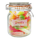 Peronalised Retro Label Kilner Glass Jar