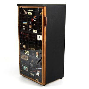 Typecase Display Cupboard - storage & organising