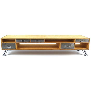 Vintage Style Tv Console Table