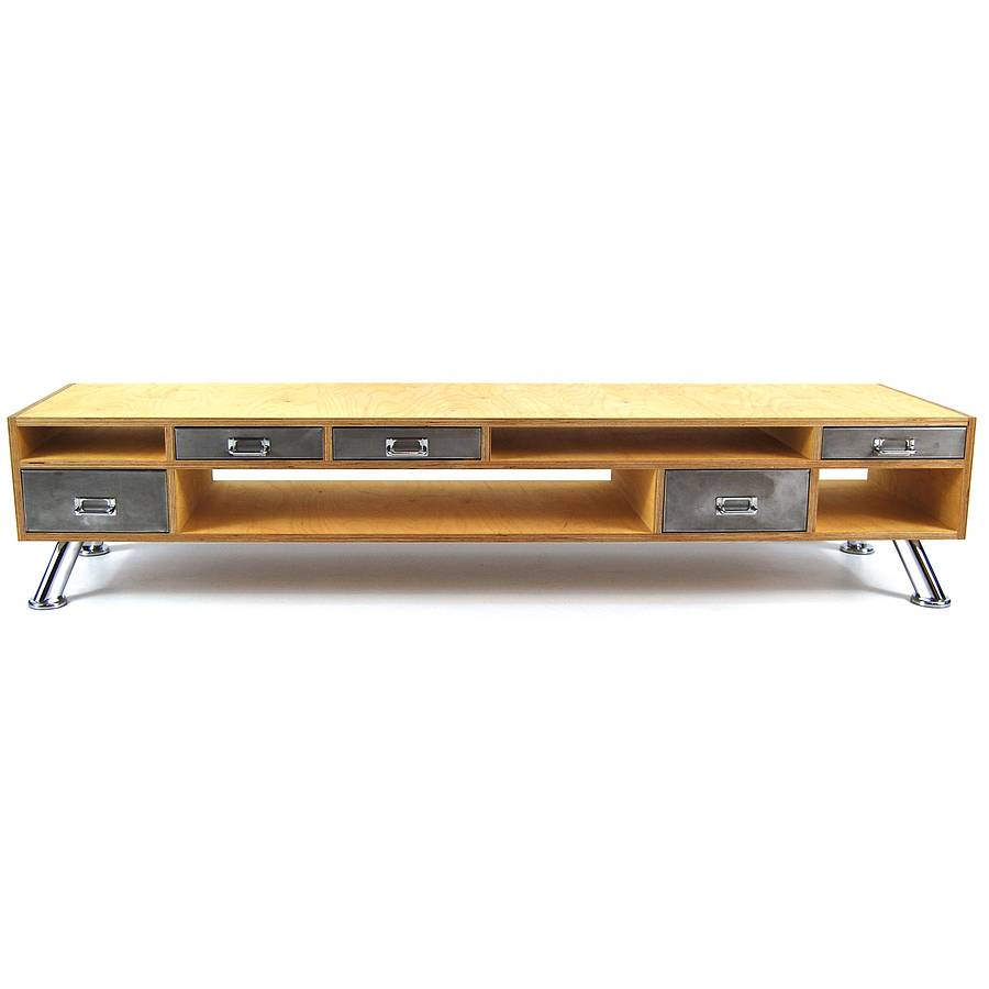 Superbe Vintage Style Tv Console Table