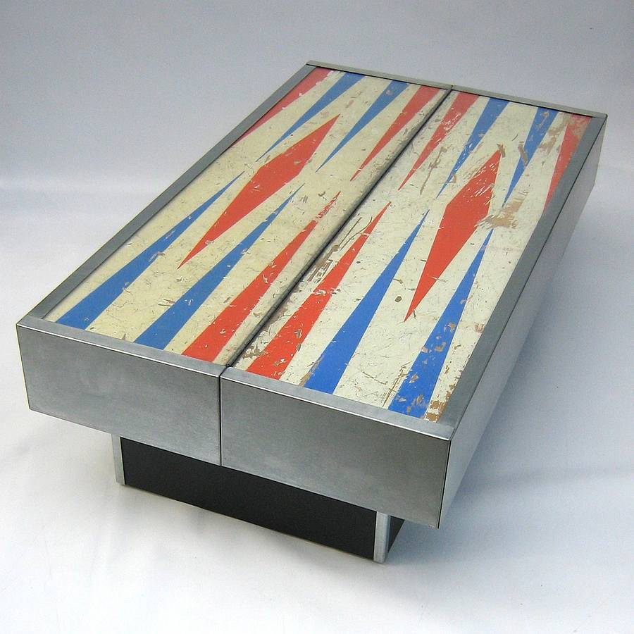 Hinged Pinball Coffee Table By Tilt Originals