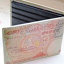 Bank Note Wallet