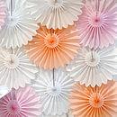 Deluxe Tissue Paper Fan