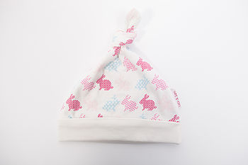 Rabbit Print Knottie Hat