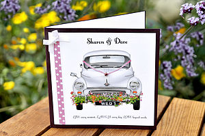 Personalised Wedding Cards - wedding cards