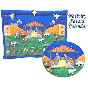 Nativity Advent Calendar - advent calendars