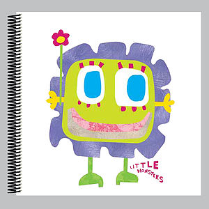 Little Monster Macy Scrapbook - scrapbooks & sketchbooks
