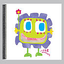 Little Monster Macy Scrapbook