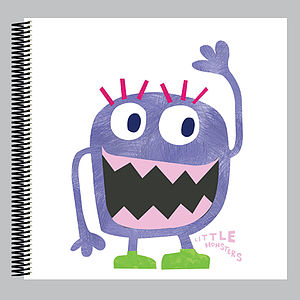 Little Monster Mara Scrapbook - diy & craft