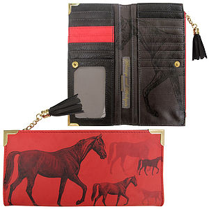 'Black Stallion' Wallet