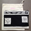 Vintage Scarf Clutch Bag