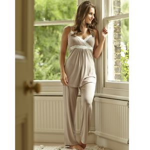Radiance Maternity / Nursing Camisole Pyjamas - women's fashion