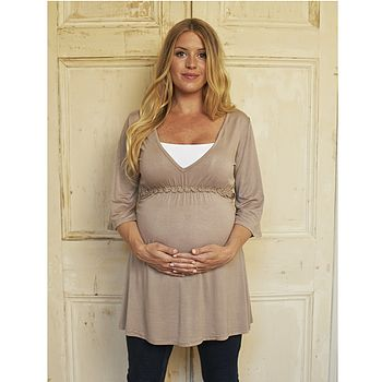 Maternity And Breastfeeding Daisy Kaftan