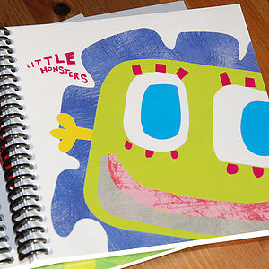 Little Monster Macy Notebook