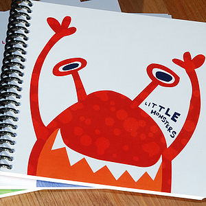 Little Monster Mackenzie Notebook