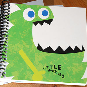 Little Monster Morris Notebook