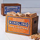 Vintage Kindling Box Or Crate