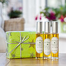 Heavenly 100% Organic Body Oils Gift