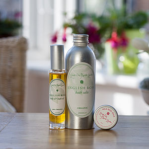 Love Rose Organic Skincare Collection - bath & body