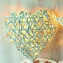 Hanging Heart With Battery Lights