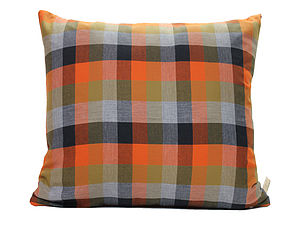 Check Cushion Cover - cushions