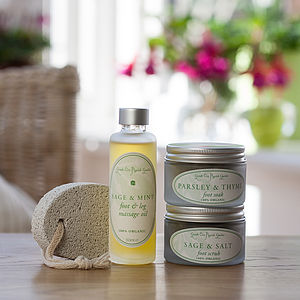 Treats for Feet - grooming gift sets