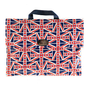 Union Jack Music Book Bag - boys' bags & wallets