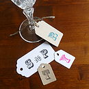 Pack Of Ten Personalised Gift Tags