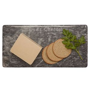 Dad's Or Daddy's Marble Cheese Board Boxed