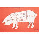 Butchers Lamb Tea Towel