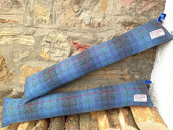 Harris Tweed Draught Excluder