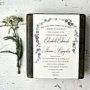 Julia Wedding Stationery